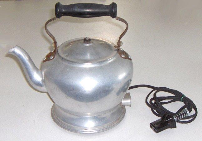 Vintage Universal Landers Frary & Clark Electric Tea Kettle circa 1930s