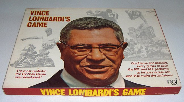 Vintage Vince Lombardi's Game 1970 Football Game