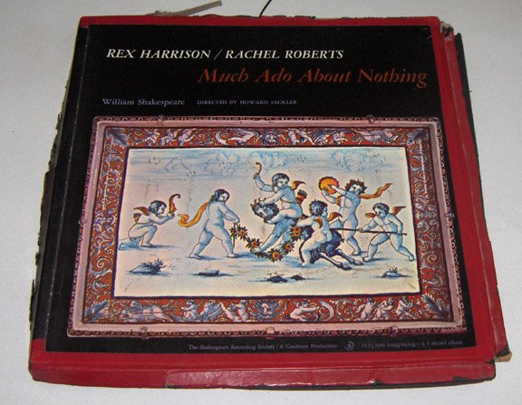 Much Ado About Nothing Shakespeare Rex Harrison LP