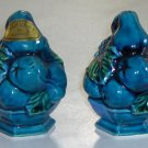 Vintage 60's Inarco Mood Indigo Salt and Pepper Shakers