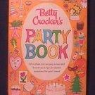 1960 Betty Crocker Party Book - 500+ Recipes and more!