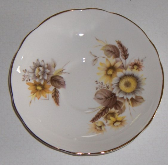 Vintage Royal Ascot Straw Flowers Saucer (no cup) England