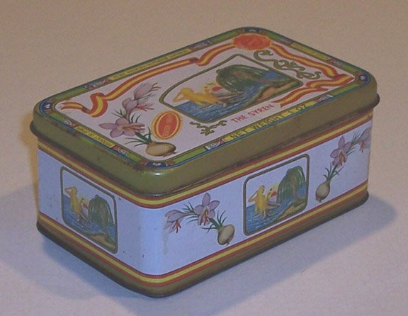 Vintage Spanish Mancha Saffron Tin - The Syren