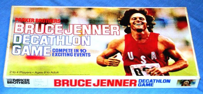 Vintage Bruce Jenner Decathlon Game (1979)