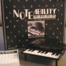 Vintage 1990 Noteability The Name That Song Game by Tiger Electronics
