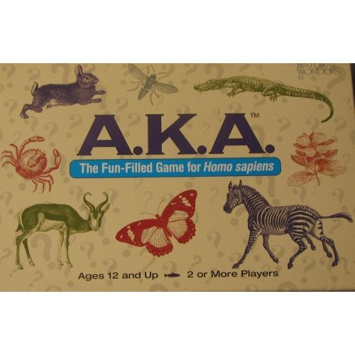 Vintage A.K.A. The Fun-filled Game for Homo Sapiens - University Games 1994