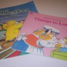 Vintage Oversized Golden Books - The Sailor Dog by M.W. Brown & Things to Love by R. Scarry