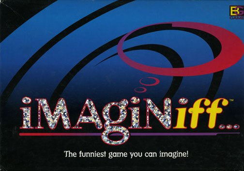 1998 Buffalo Games Imaginiff Boardgame