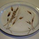 Vintage Midwinter Stonehenge Wild Oats Oval Platter