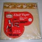 Vintage Roylcraft Mushroom Shelf Paper with Heavy Duty Edging