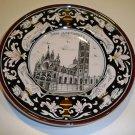 Vintage Handpainted Souvenir Plate - Siena la Cattedrale Siena, Italy