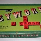 Vintage Parker Brothers Keyword Crossword Game 1953