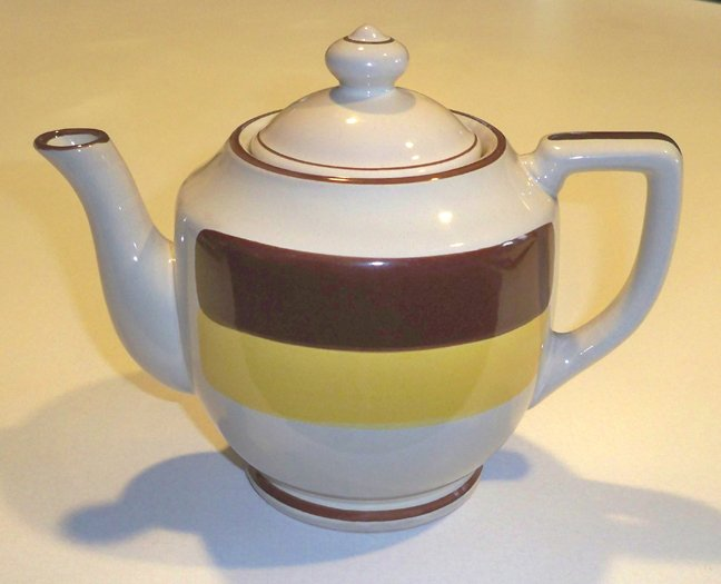 Vintage JI Stonecrest #1004T Rainbow Teapot with Lid
