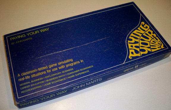 Vintage 1975 McGraw-Hill Paying Your Way Board Game