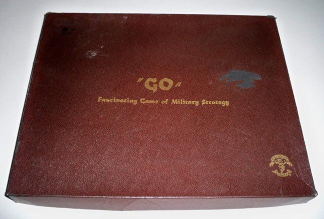"Vintage Pleasantime Games Game of ""Go"" (Chinese Wei Qi) Fascinating Game of Military Strategy"