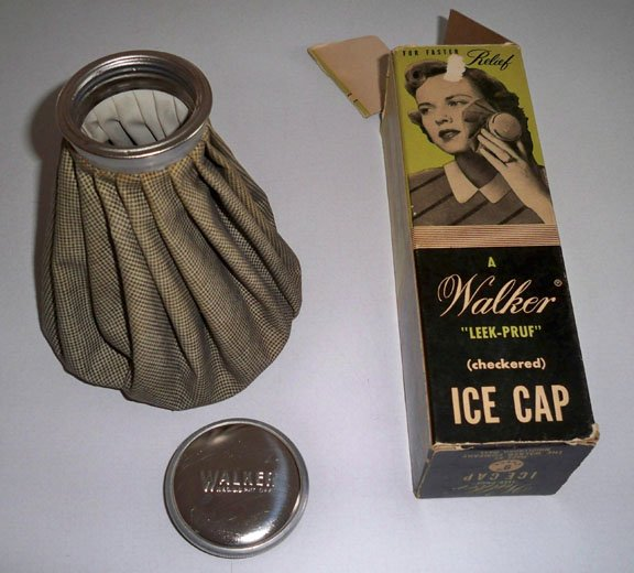Vintage Walker Leek-Pruf (checkered) Ice Cap