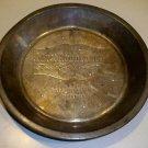 "Vintage Mrs. Robbinson's Table Talk 9"" Pie Baking Tin"