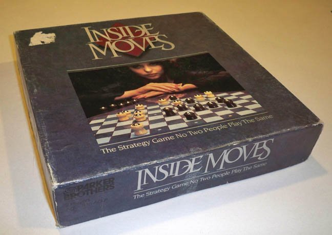 Vintage Parker Brothers Inside Moves Board Game 1985