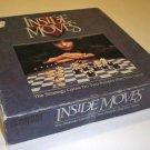 Vintage Parker Brothers Inside Moves Board Game 1985