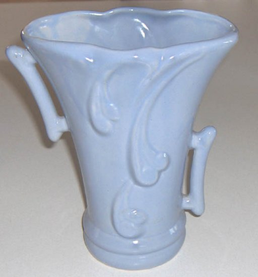 """Vintage Gonder # H-56 Matte Blue Vase - 8 1/4"""""""