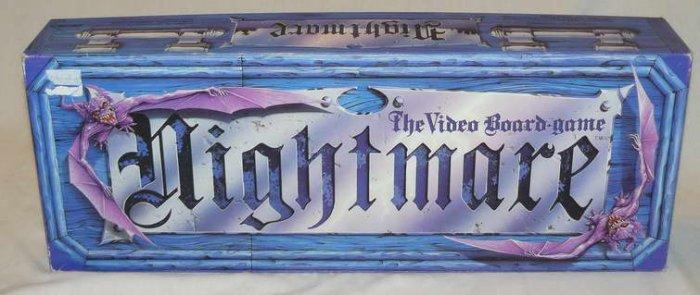 VintageNIGHTMARETheVideoBoardGame!1991 sold 2.4.09