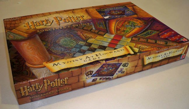 Mattel Harry Potter and the Sorcerer's Stone Mystery at Hogwarts Board Game