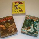 Vintage Whitman Big Little Book - Lot of 3 Daktari, Lassie, Tom & Jerry