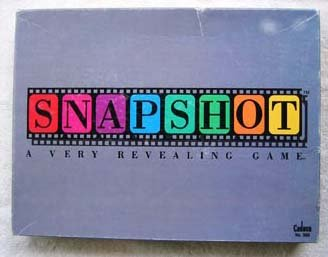 Vintage Cadaco 1990 Snapshot A Very Revealing Game