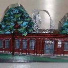 Vintage Chautauqua Regional Community Foundation Wood Miniature Building Ornament - Hand Painted