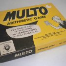 Vintage 1955 Kenworthy Educational Multo Arithmetic Game