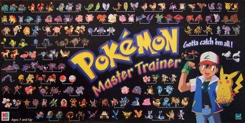 VintageMiltonBradleyPokémonMasterTrainerBoardGame1999 sold 4.13.09