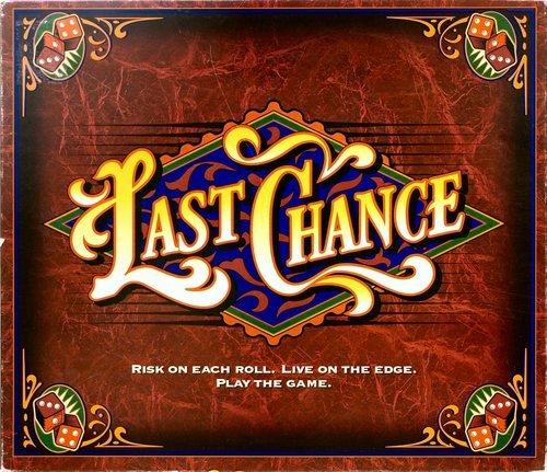Vintage Milton Bradley Last Chance Game 1995