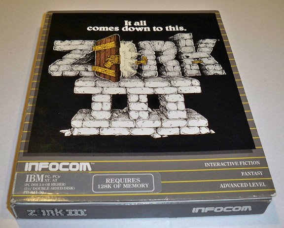 Vintage Infocom 1983 Zork III The Dungeon Master Software