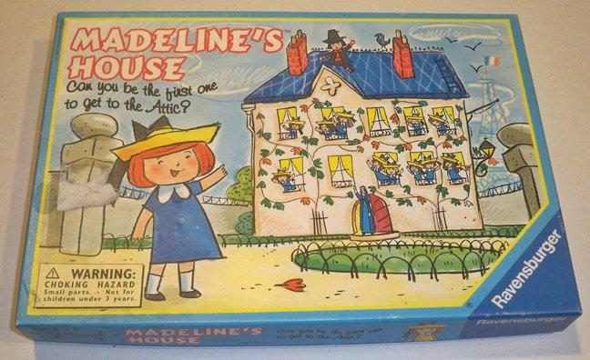 Vintage Ravensburger 1995 Madeline's House Board Game