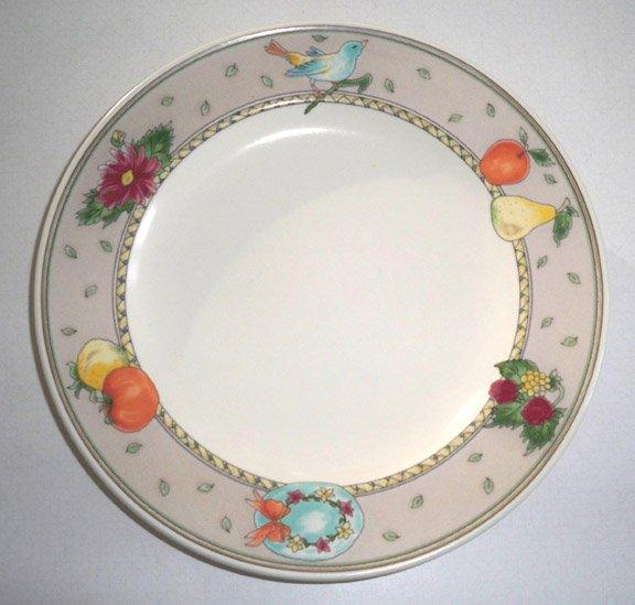 Vintage Mikasa Summer Jewel Salad Plate - Set of 4