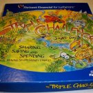Vintage The Triple Challenge Board Game