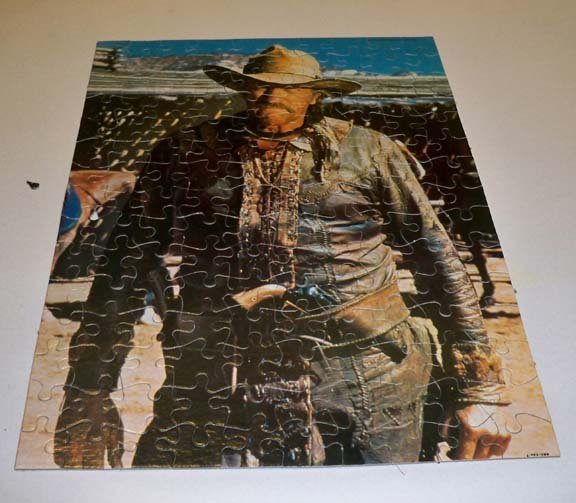 "Vintage 1978 How the West Was Won ""Zeb"" Jigsaw Puzzle"