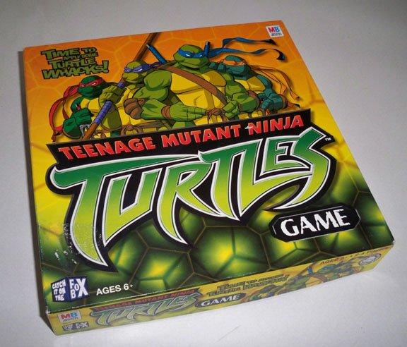 Vintage 1982 MB Teenage Mutant Ninja Turtles Board Game