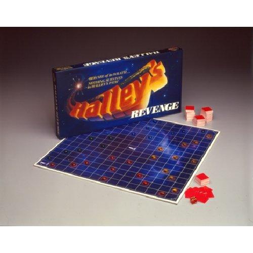 Vintage 1985 Rainbow Games Halley's Revenge Boardgame NIB