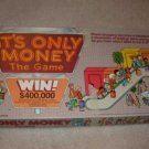 Vintage 1987 It's Only Money Board Game
