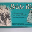 Vintage Bridal Shower Game Bride Bingo 1970 MIB