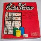 Vintage Cardinal Poker Keeno Game