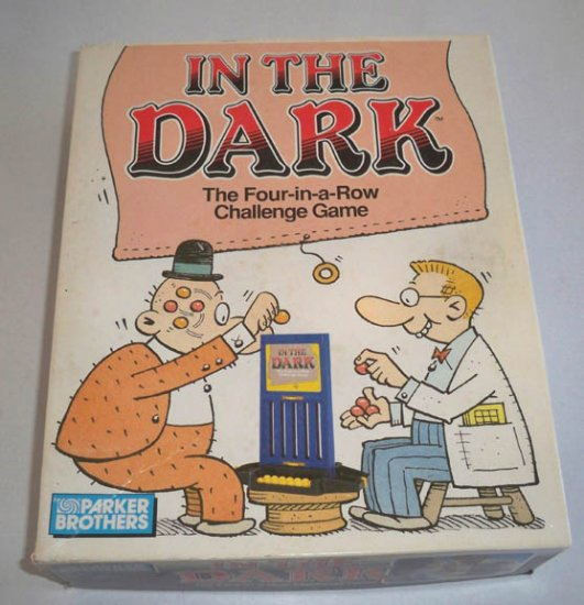 Vintage Parker Brothers 1989 In the Dark Game