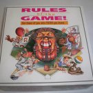 Vintage 1995 Rules of the Game! Sports Trivia Board Game