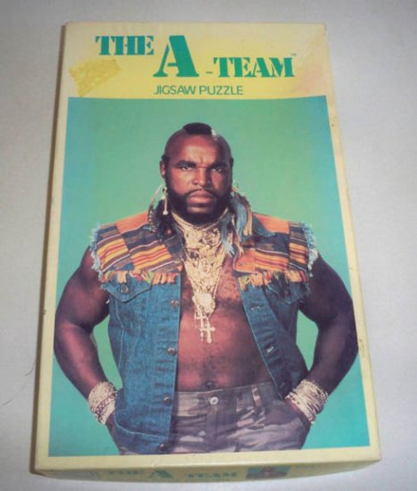 Vintage The A-Team Mr. T Jigsaw Puzzle by APC 200 Piece
