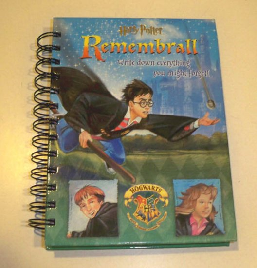 Harry Potter (2000) Remembrall: Write Down Everything You Might Forget! Diary Book