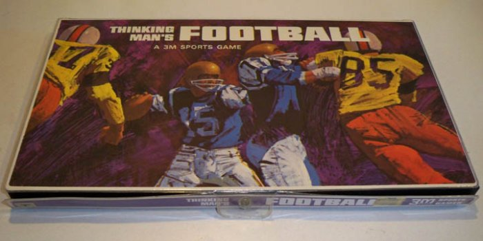 Vintage 3M 1969 Thinking Man's Football Game