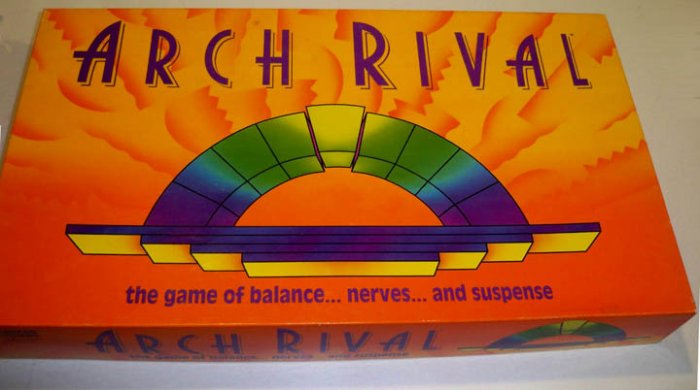 Parker Brothers 1992 Arch Rival Game