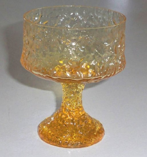Vintage Lenox Impromptu Yellow Champagne Tall Sherbet Goblet - Set of 3