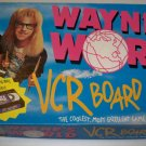 1992 Wayne's World VCR Board Game - Mattel No. 7670